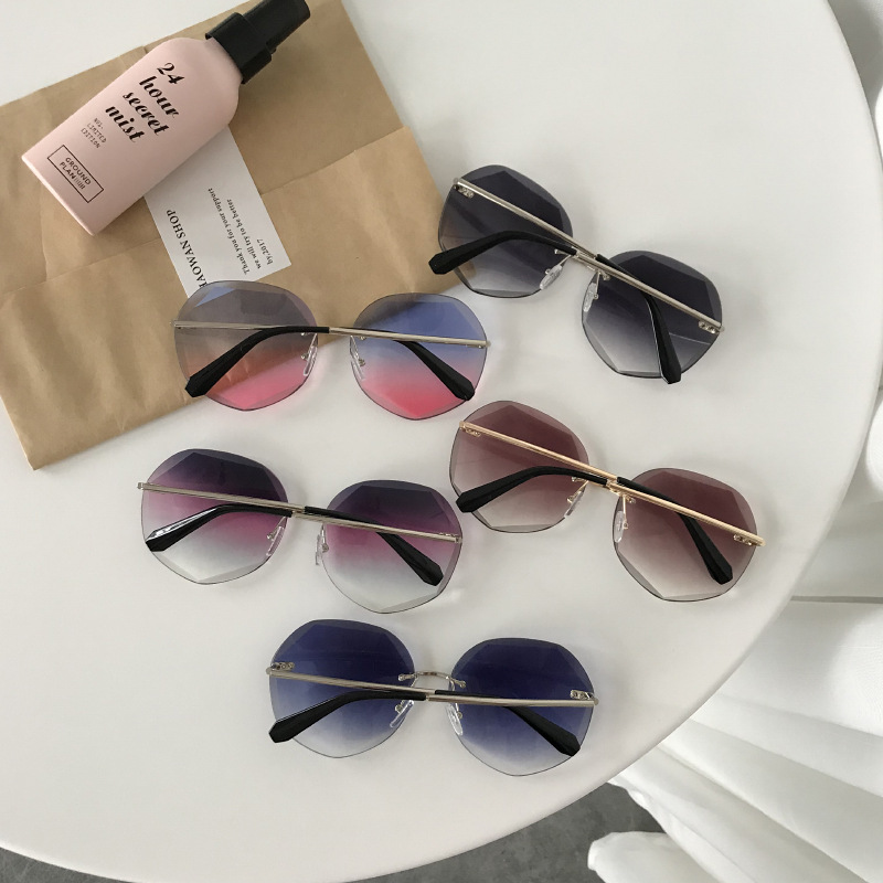 Newest Cool Polygon Shaped Hexagon Sunglasses Women Sun Glasses UV Protection Female Eyewear Frame Driver Goggles Car Accessorie|Driver Goggles| |  - title=