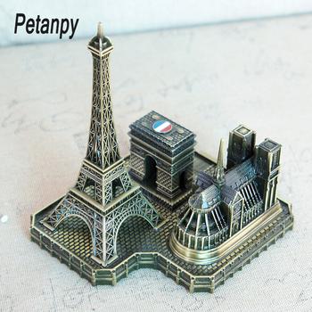 Wieża paryska arkada łuk triumfalny kościół notre-dame de Paris europejska francuska pamiątka turystyczna przyjaciel pozowanie tanie i dobre opinie CN (pochodzenie) Architektura Retro i nostalgia Stare meble Metal