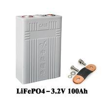 4PCS Hohe entladung Rate Wiederaufladbare 3,2 V 100AH lithium-LiFePO4 CA100 CALB Batterie