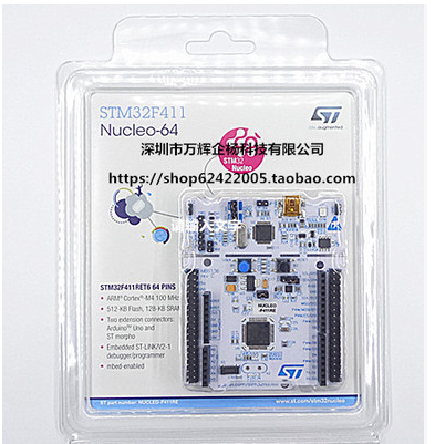 Development-Board New Arduino-Stm32 1PCS-3PCSNUCLEO-F411RE STM32F411RET6 Support In-Stock