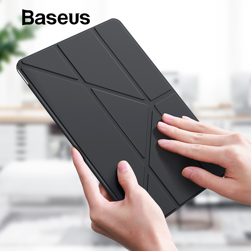Baseus Smart Case for iPad 10.2 inch 2019 7th Gen Lightweight Stand Case for iPad 10.2 inch Auto Sleep Wake Full Protect Cover image