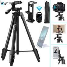 Stativ für Kamera Tablet 60-Inch/150cm Aluminium Telefon Stativ für Telefon/iPad/ DSLR Kamera mit fernbedienung Halterung