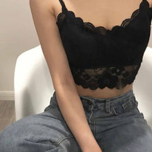 Sexy Women Lace Bra Bandage Strap Wrapped Chest Unpadded Bra Lady's Underwear Summer Party Crop Top Lingerie Fitness Bra Top(China)