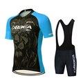 2021 профессиональная команда летняя Велоспорт Джерси комплект Дышащая MTB велосипедная одежда для горного велосипеда одежда Maillot Ropa Ciclismo