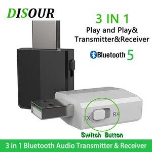 Image 1 - KN330 3 Trong 1 USB Bluetooh 5.0 Âm Thanh Thu Phát 3.5 AUX Jack RCA Stereo Không Dây Bluetooth Adapter Dành Cho Tivi máy Tính Nhạc Trên Ô Tô