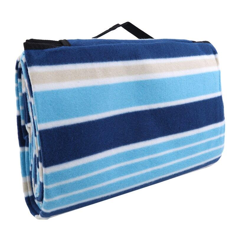Влагонепроницаемое одеяло для пикника, коврик для пикника, Пляжное Полосатое одеяло, водонепроницаемый коврик для кемпинга