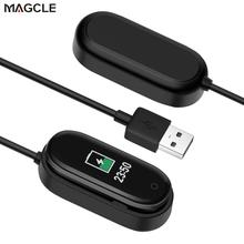 Oplader Voor Xiao Mi Mi Band 2 3 4 Charger Cable Gegevens Cradle Dock Opladen Kabel Voor Xiao Mi Mi band 2 3 4 Usb Oplader Zwart
