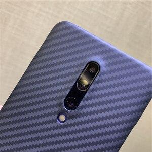 Image 3 - Karbon fiber koruyucu kılıf oneplus 7 8 pro arka kapak kabuk tampon aramid lüks marka orijinal tasarım