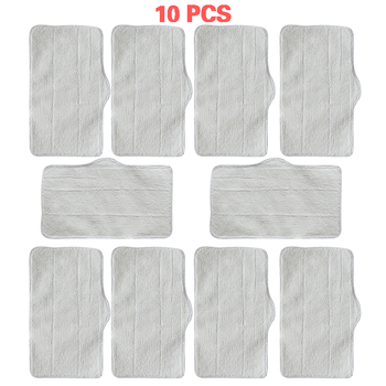 3/5/10  Pcs Mop Cleaning Pads For Xiaomi Deerma DEM ZQ600 ZQ610 Handhold Steam Vacuum Cleaner Cleaner Mop Replacement Accessory