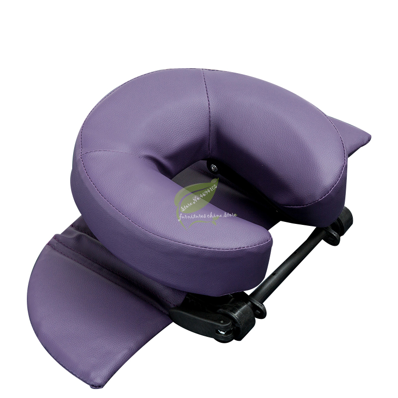 Home Massage Kit - Deluxe Adjustable Headrest & Face Pillow / Home Massage Beauty Cradle Rest Pad For Desk&Tabletop