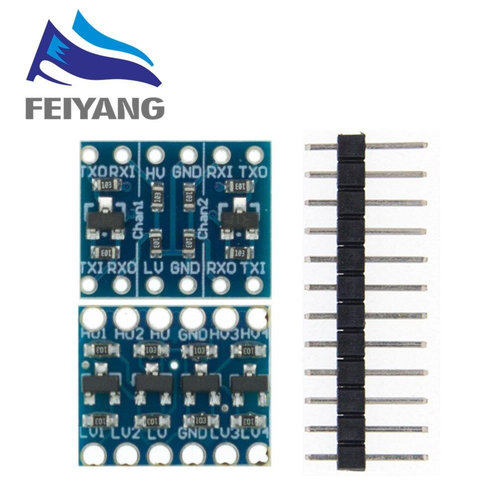 10 шт. 2 канала/4 канала межсоединений интегральных схем I2C материнскую плату преобразователь уровня двунаправленный при напряжении от 5 в до 3...