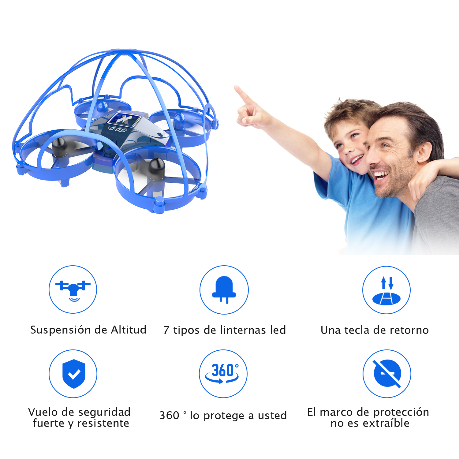 Mini Drone 360 Protecting Frame Safe RC Quadcopter Drone 2.4G 4CH Quadcopter RC Helicopter Headless Altitude Hold Mode oyuncak