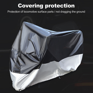 Image 3 - Motorcycle Cover All Season Waterproof Outdoor Protection(M XXXXL) Oxford cloth Replacement for Honda,Kawasaki, Yamaha, BMW