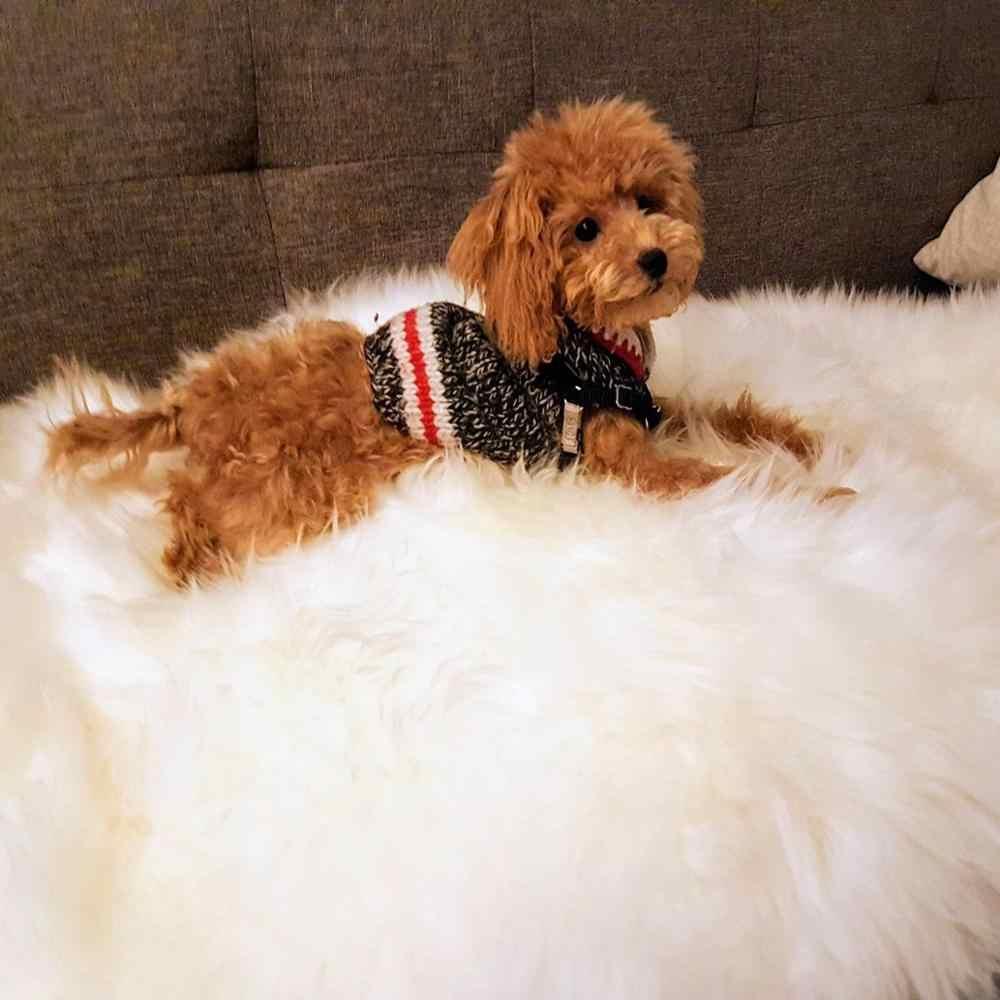 Fur Wool Rug Carpet Dog Bed Mat
