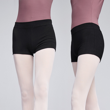 Comfort Cotton Black Ballet Dance Practice Shorts Women Girls Ladies Fitness Simple Fashion - discount item  10% OFF Stage & Dance Wear