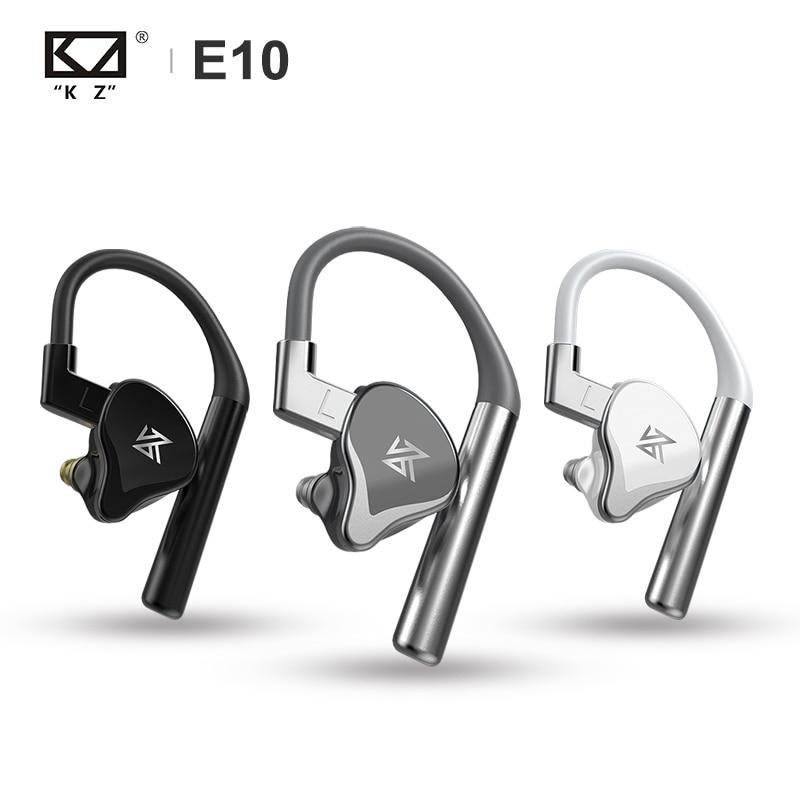 KZ E10 TWS True Wireless Hybrid Driver 1DD+4BA Bluetooth Earphone Bass Sport Earbud Apt-X Built-in Dual Mic Headset