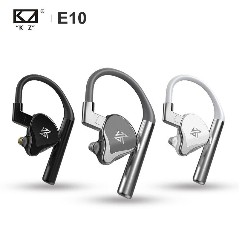 KZ E10 TWS True Wireless pilote hybride 1DD + 4BA Bluetooth écouteur basse Sport écouteurs apt-x intégré double micro casque