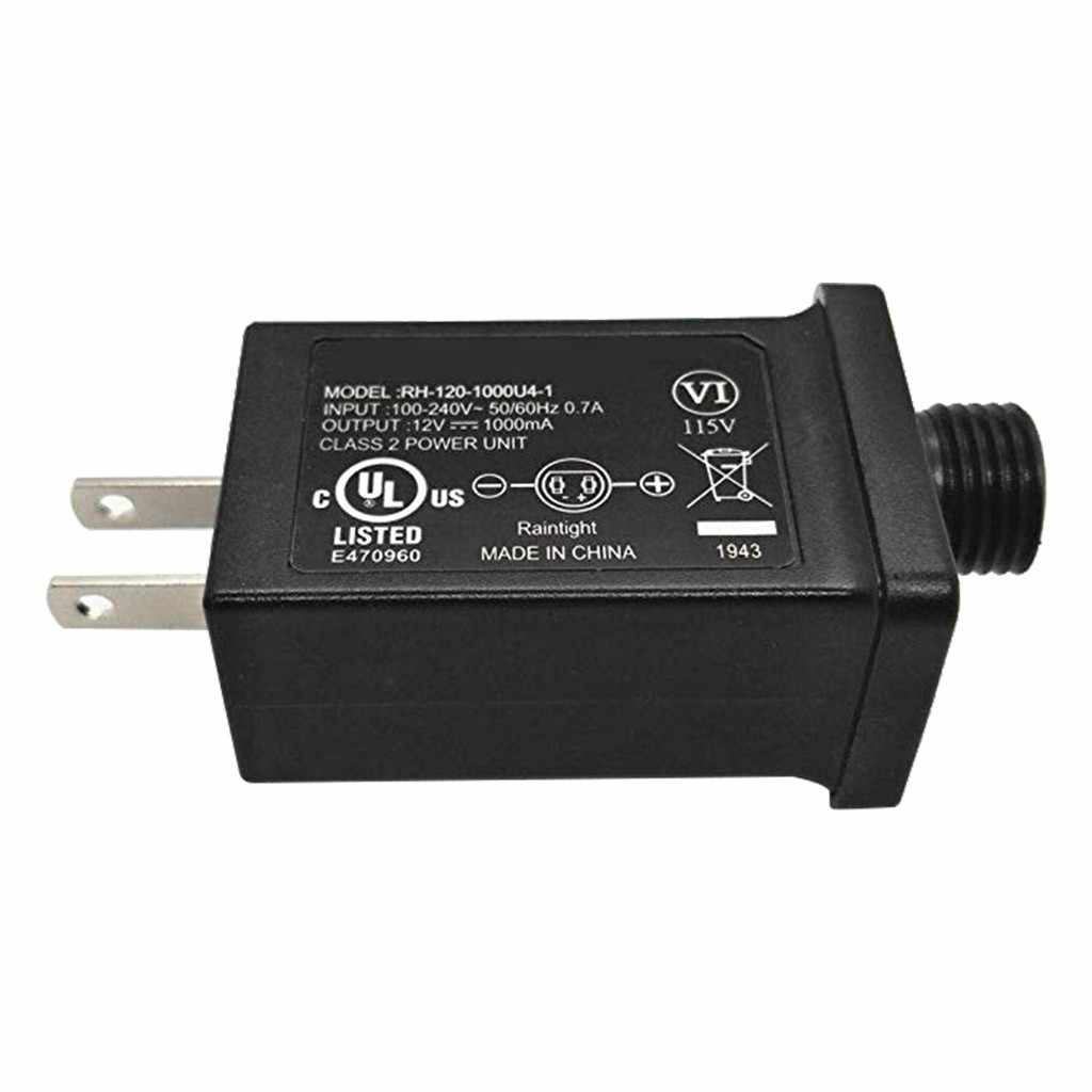 12v 1a class 2 power supply led transformer replacement for string light inflatable device home improvement tools garden 40