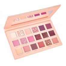 Палитра теней для век 18 матовых мерцающих цветов стойкая идеальная палитра для макияжа пудра розовые оттенки Набор теней для век