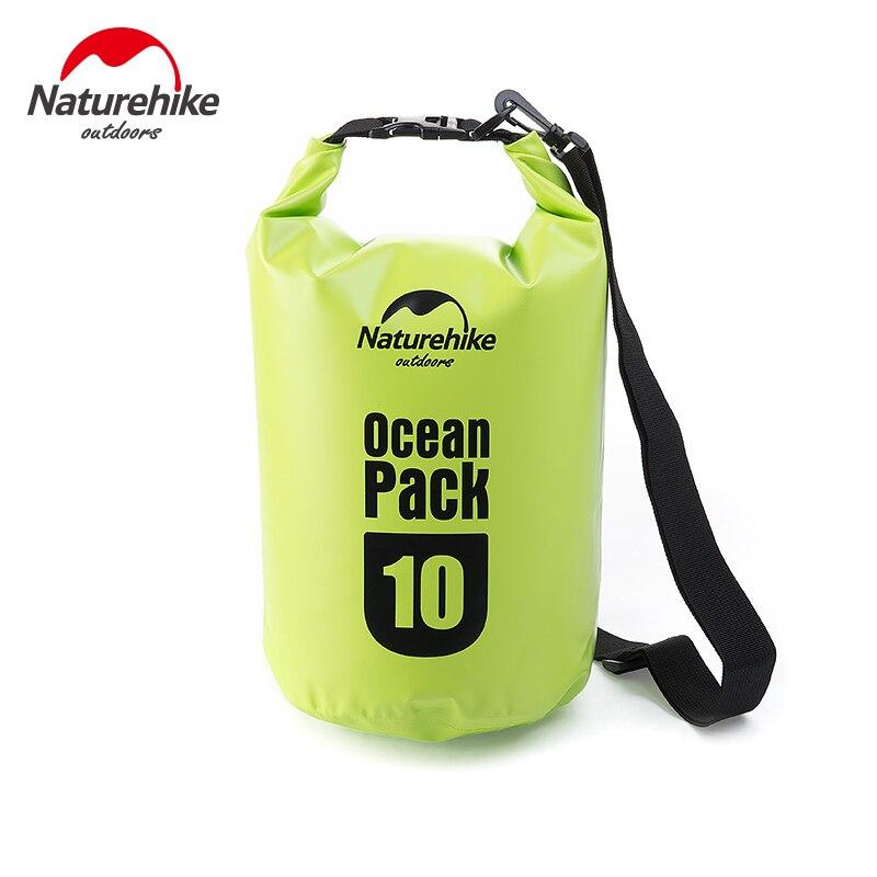 Naturehike Barrel-Shaped Tarp River Trekking Drifting Seal Rafting Bag Ocean Pack Waterproof Bag Dry Bag Outdoor 5L/10L/20L