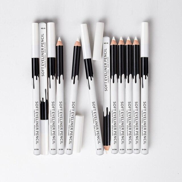 1/2/3pcs Eyeliner Pencil Makeup Women Long Lasting Waterproof Pigment Eye Liner White Eyeliner Pen Cosmetics New