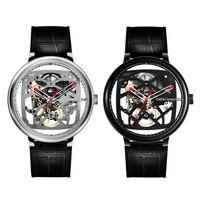 Оригинальный CIGA дизайн креативные автоматические механические часы из натуральной кожи ремешок Мужские модные часы легкие носимые устрой
