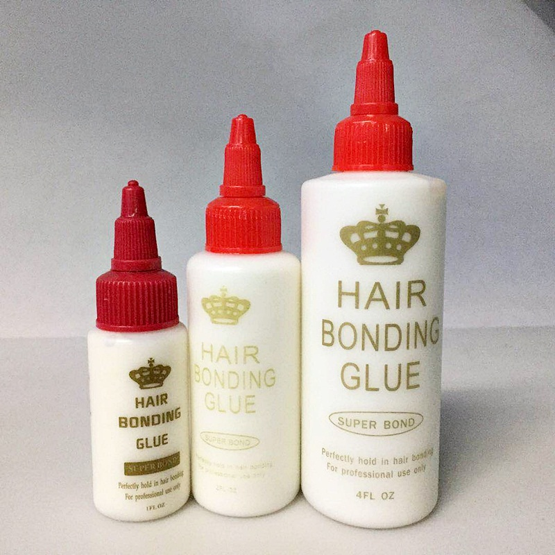 30/60ml hair glue hair bonding glue for lace front wig men's toupee ultra bond hold lace glue weave glue hair glue for lace wig