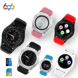 696 Bluetooth inteligentny zegarek V9 sport zegarek krokomierz z SIM TF smartwatch dla androida Smartphone rosja PK DZ09 GT08 A1 w Inteligentne zegarki od Elektronika użytkowa na