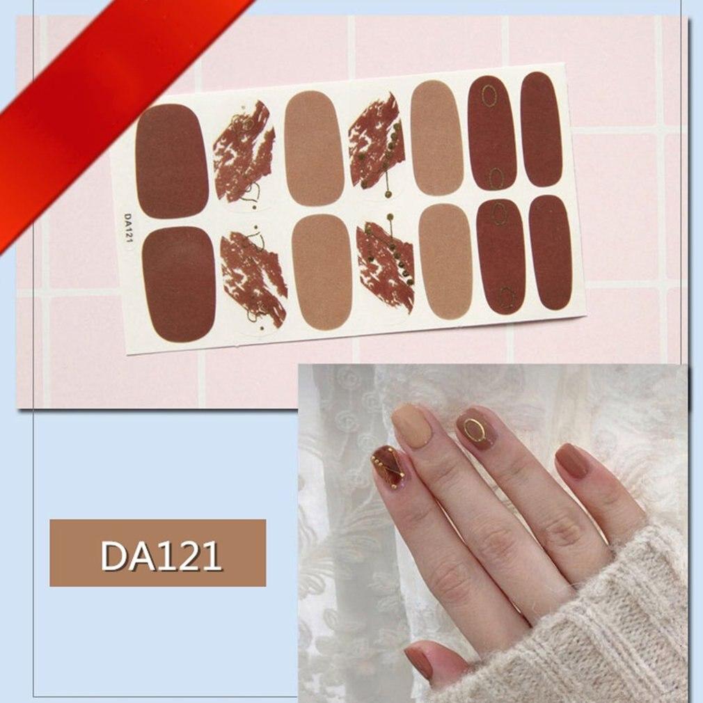 Наклейки для ногтей пленка лака наклейка водонепроницаемая печать