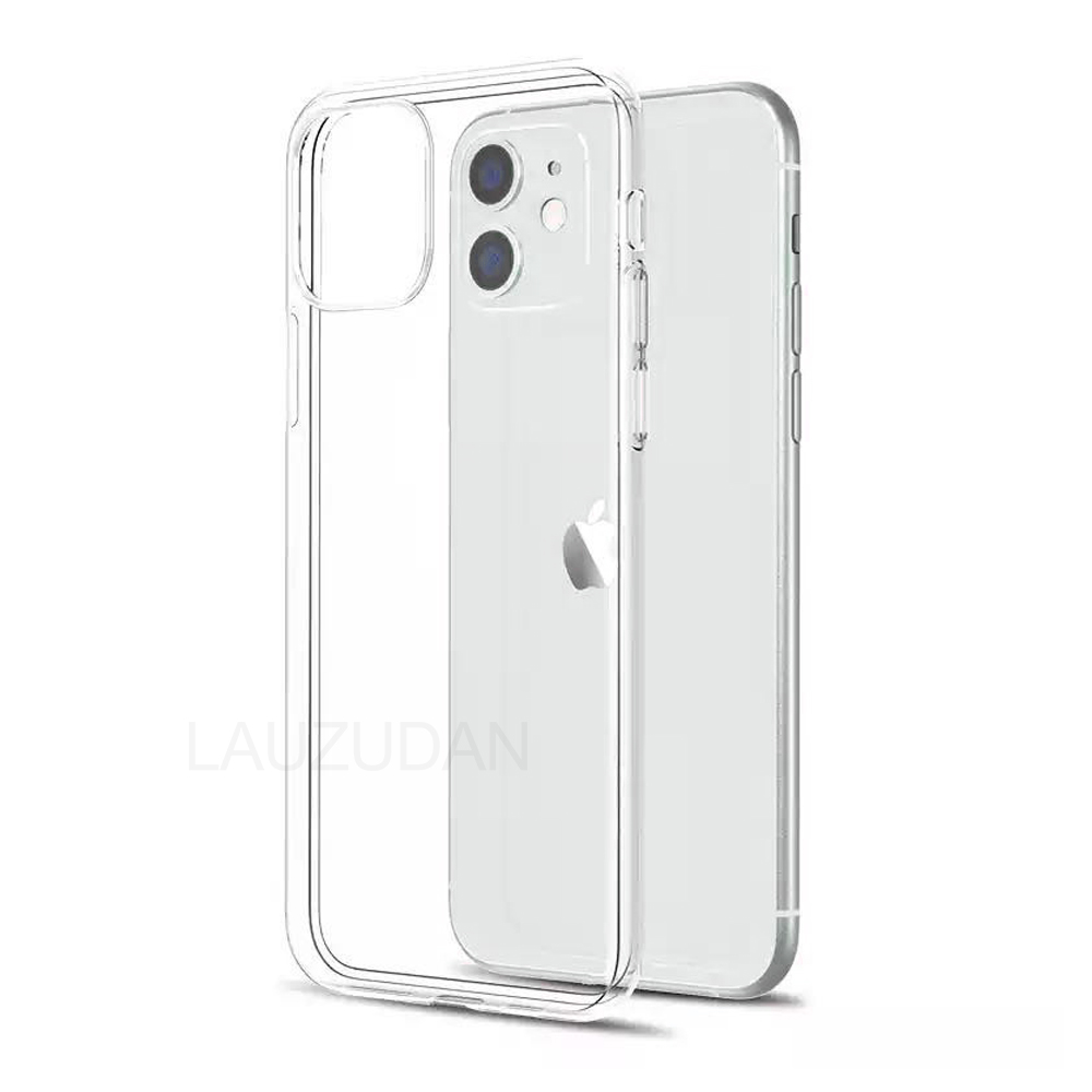 Clear Phone Case For iPhone 7 Case iPhone XR Case Silicon Soft Cover For iPhone 11 12 Pro XS Max X 8 7 6 s Plus 5 5s SE 9 Case(China)