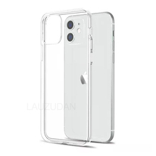 Clear Phone Case For iPhone 7 Case iPhone XR Case Silicon Soft Cover For iPhone 11 12 Pro Mini XS Max X 8 7 6s Plus 5 5s SE Case