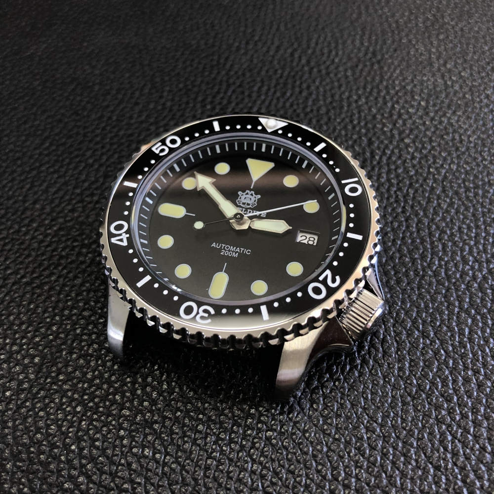 Image 4 - Luminous Automatic Watch Man Mechanical Watch NH35 Sapphire Crystal 316L Mechanical Ceramic Bezel  Stainless Steel Dive WatchSports Watches   -
