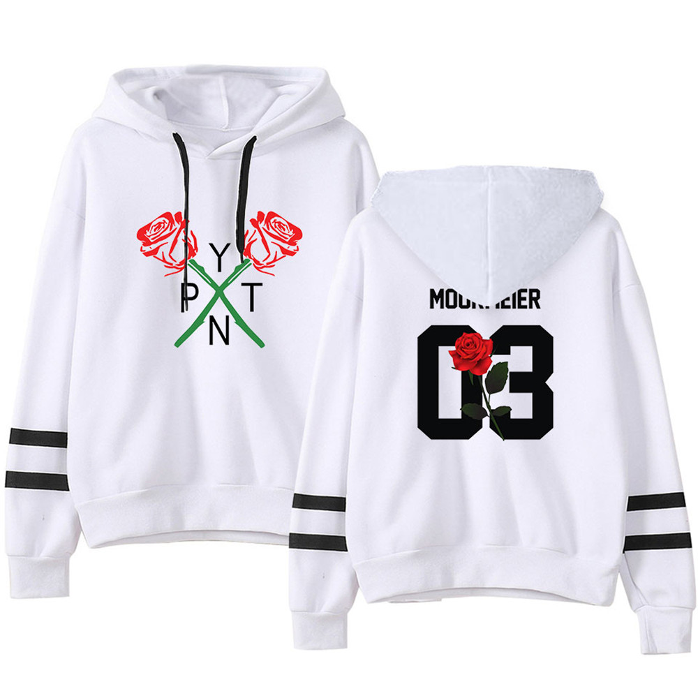 New 2020 Harajuku Internet Celebrity Payton Moormeier PYTN Printed Hooded Women/Men Casual Cool Kpop Hoodie Sweatshirt