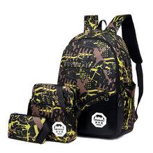 3 шт Детские нейлоновые рюкзаки