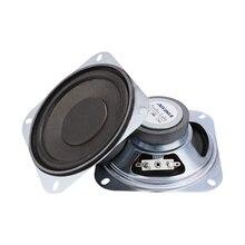 AIYIMA 2 個 4 インチポータブルオーディオスピーカーサブウーファー 6Ohm 10 ワット DIY ホームシアターのための Bluetooth スピーカースピーカー