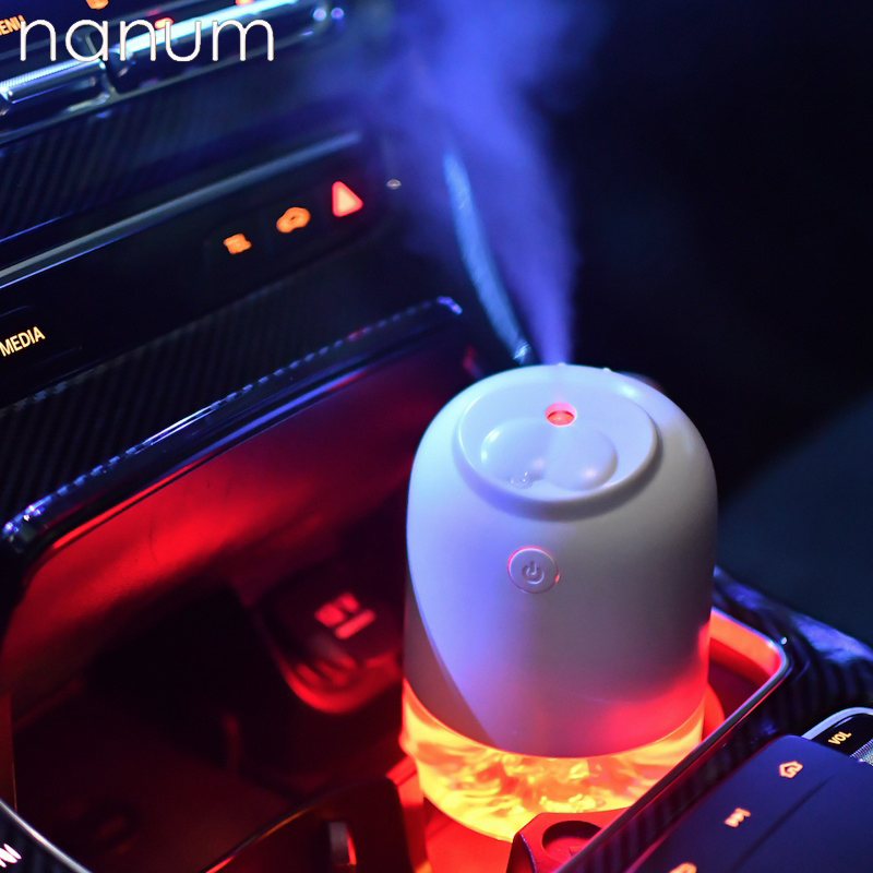 New Car Essential Oil Diffuser Mini Ultrasonic Seal Humidifier LED Night Light  USB Aromatherapy