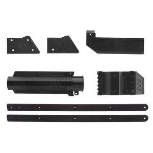 Pracownik ABL-W001 druk 3D nr 150 czarny uchwyt zestawy do ściągania Combo dla Nerf Rival Apollo XV700 zmodyfikuj pistolet zabawkowy Accessary nerf mod