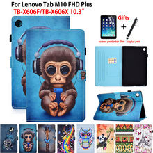 Cover Case Tablet Lenovo Tab Fhd-Plus TB-X606F for M10 Capa Funda Skin-Shell Painted-Stand