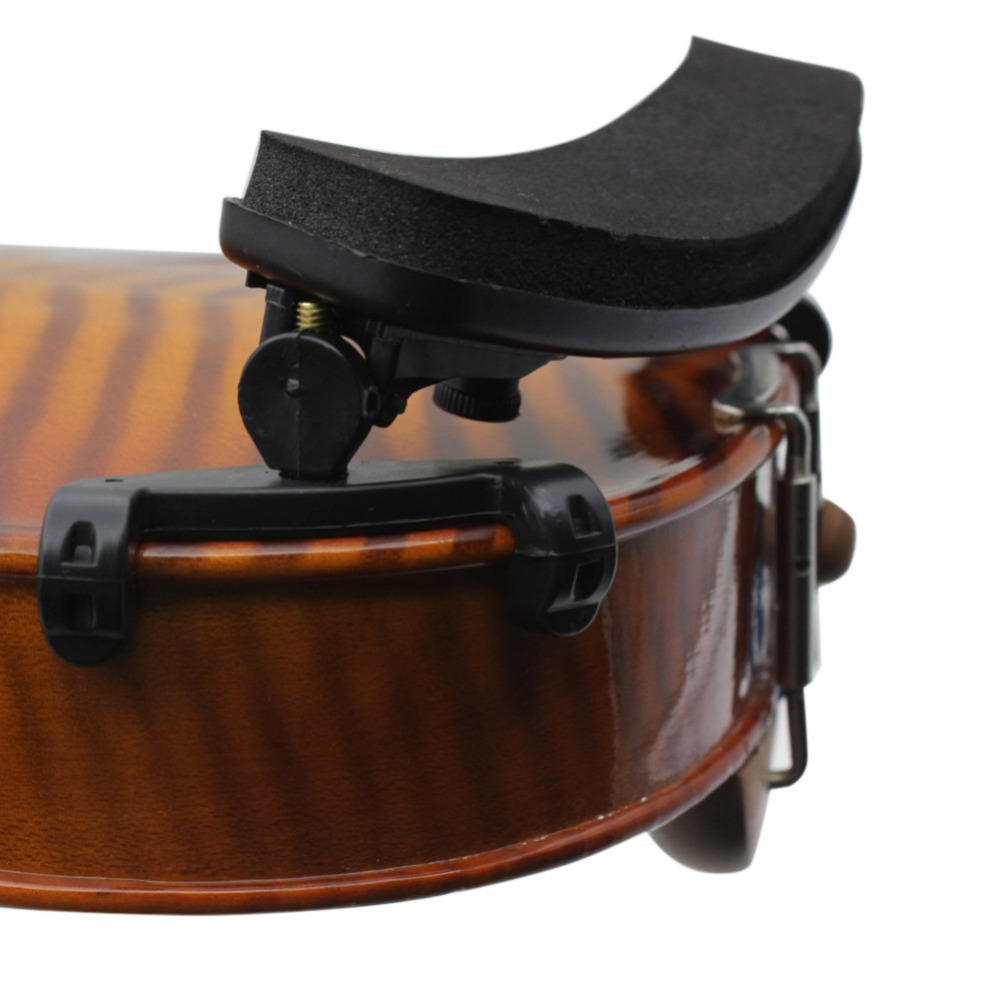 2019 New Adjustable Violin Shoulder Rest Plastic EVA Padded For 1/8 1/2 1/4 Fiddle Violin Good Quality Violin Parts Accessories