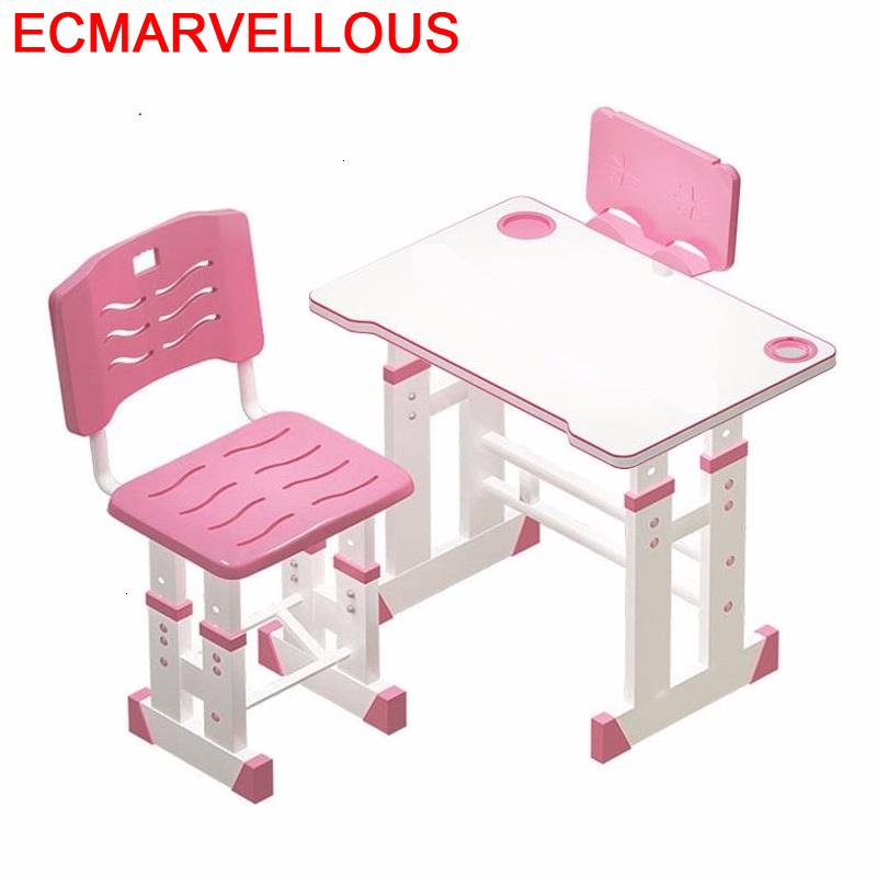 Y Infantiles Estudo Chair And Pour Baby Pupitre De Estudio Play Adjustable For Enfant Kinder Mesa Infantil Kids Study Table