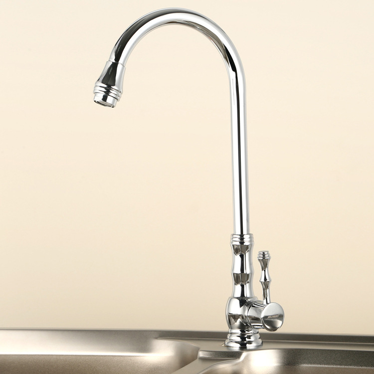 Kitchen Faucet Hot Selling Hot And Cold Mixing Water Rotating Kitchen Faucet Copper Antioxidant Wash Kitchen Faucet