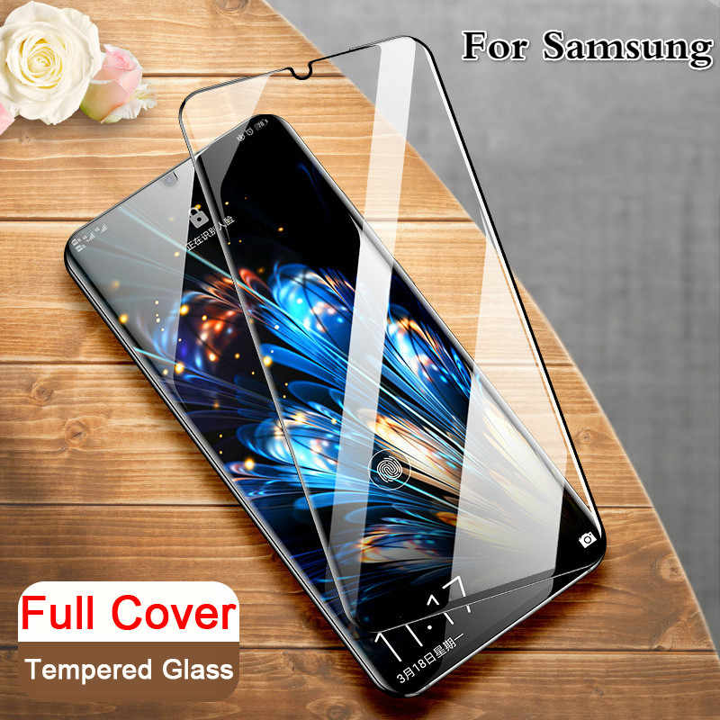 Protective Tempered Glass for Samsung M40 M30 M20 M10 Screen Protector For Galaxy A10 A20 A30 A40 A50 A60 A70 A80 A90 Hard Film