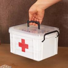 First Aid Kit Medicine Chest Holder Storage First Aid Kit Box Emergency Kits Cabinet Security Safety Home Rangement Organizer