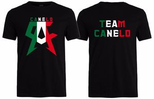 Team Canelo Unisex T Shirt Mexico Flag Saul Alvarez Boxing Champ Inspired(China)
