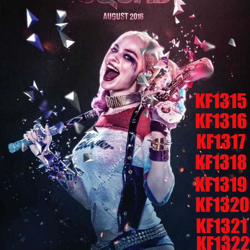 レンガ玩具新ハーレークイン映画鳥獲物のビルディングブロック女神カサンドラカイン質問ブラックマスクフィギュアおもちゃ KF6113