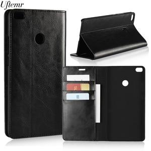 Image 5 - Luxury Vintage Genuine Leather For Xiaomi MI Max 2 Case Crazy Horse Skin Flip Wallet Cover Case For Xiaomi MI Max 2 Accessories