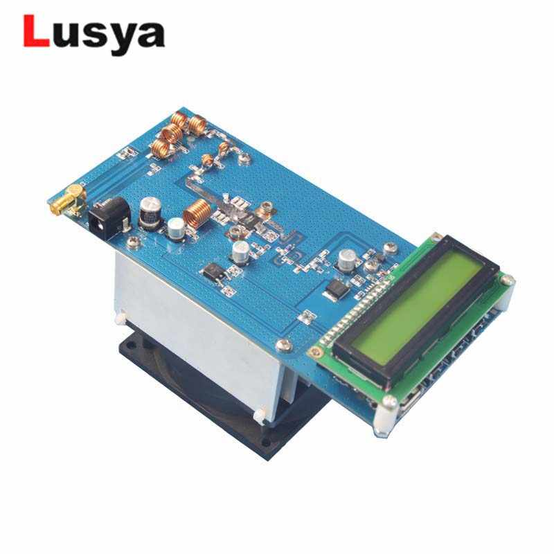 50W 87.5M-108MHz Maximum up to 70W FM Stereo Transmitter RF Power Amplifier  with Fan Radio Station module H4-002