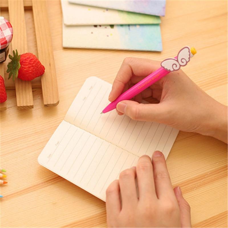 1 Pcs = 20 Lembar Mini Cute Starry Laut Diary Notebook Retro Notepad Doodle Buku Hadiah Korea Alat Tulis Kantor Sekolah perlengkapan