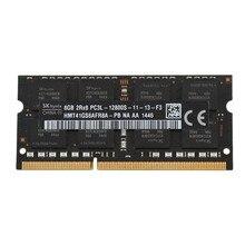 DDR3L 8Gb 1600Mhz PC3L-12800S Ram Geheugen Sodimm Lage Voltage 1.35V 204-Pin Voor Laptop Notebook (zwart)