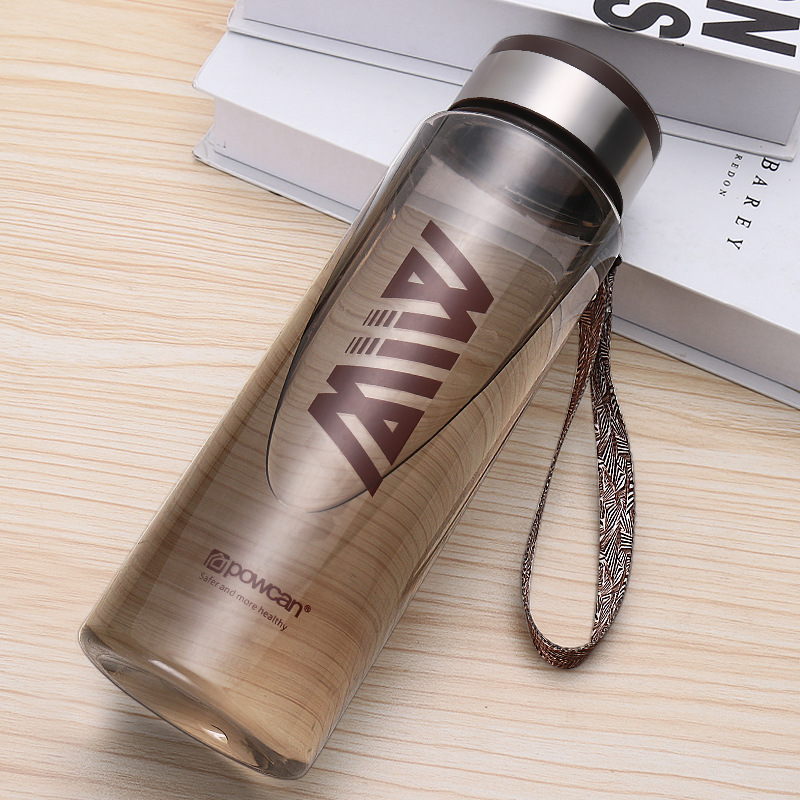Water Cup Portable Plastic Student Outdoor Sports Bottle Environmentally friendly material